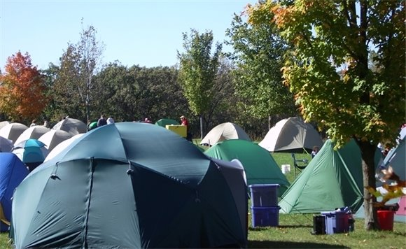 Group campground