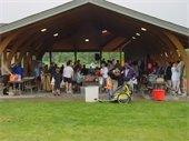 Crowd at Lake Elmo Pavilion