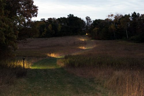 Hikers will be able to hike lighted trails in Lake Elmo Park Reserve during night hikes Oct. 9 and Oct. 23.