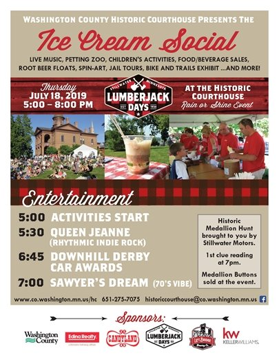 Ice Cream Social at the Washington County Historic Courthouse