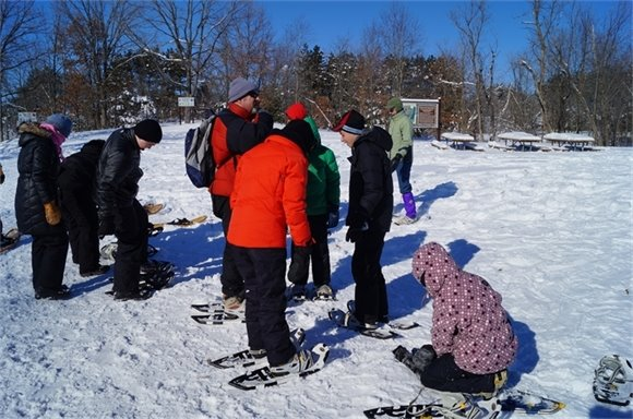 Snowshoe lessons will be part of WinterFest.