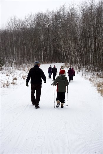 Guided fitness hikes will be offered in Washington County Parks all year round.