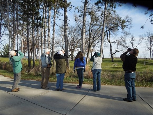 Birders on the hunt in Washington County Parks.