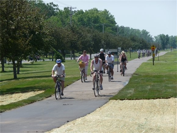 Bike riders on the Hardwood Creek Trail will be part of Explore Your Parks Day June 3.