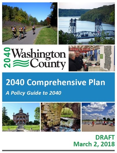 Cover of the 2040 Draft Washington County Comprehensive Plan