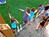 Ladies archery at Lake Elmo Park Reserve