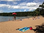 Square Lake Park Swimming Beach