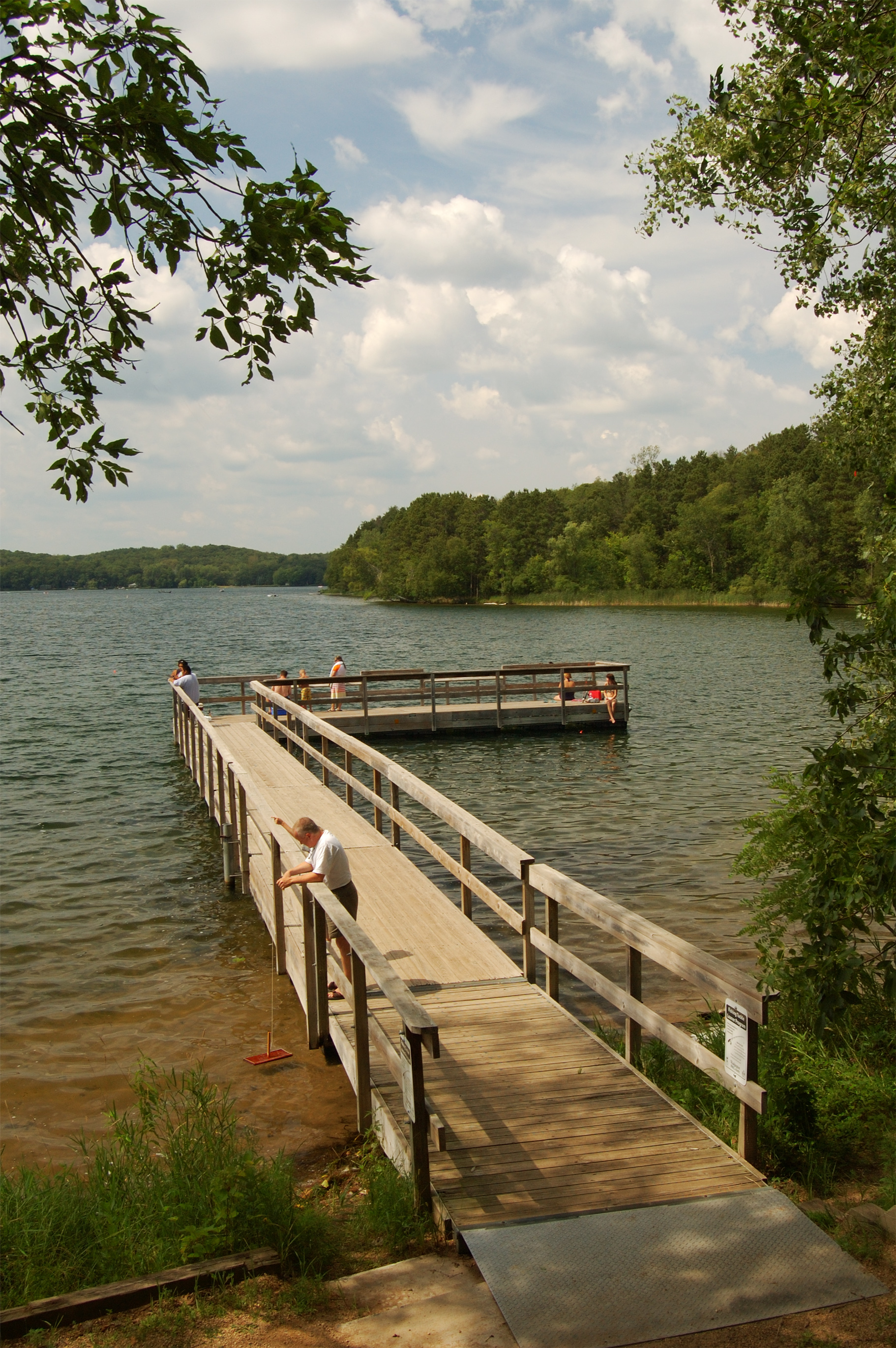 Square Lake Fishing Pier