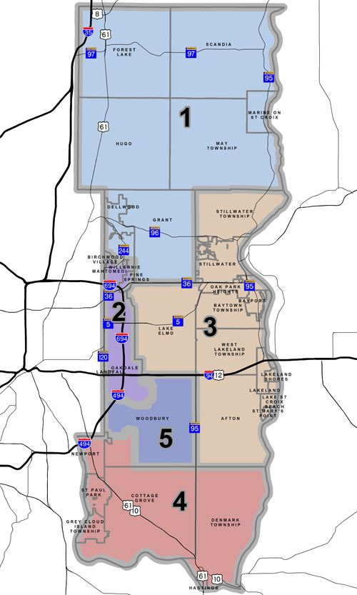 County Board Washington County MN Official Website - County maps of minnesota
