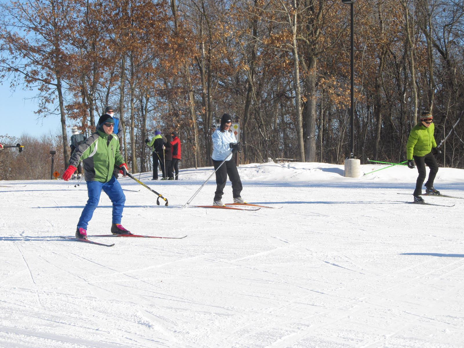 Lake Elmo Park - learn to ski