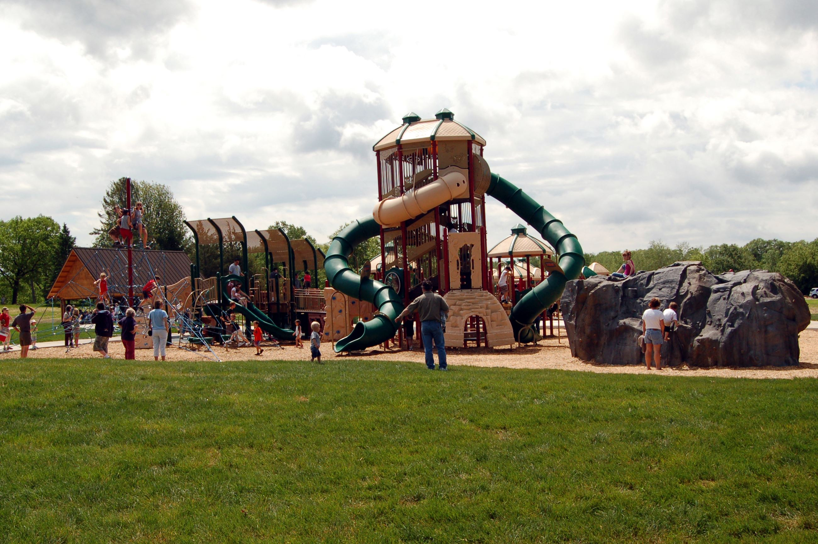 Big Marine Play Area