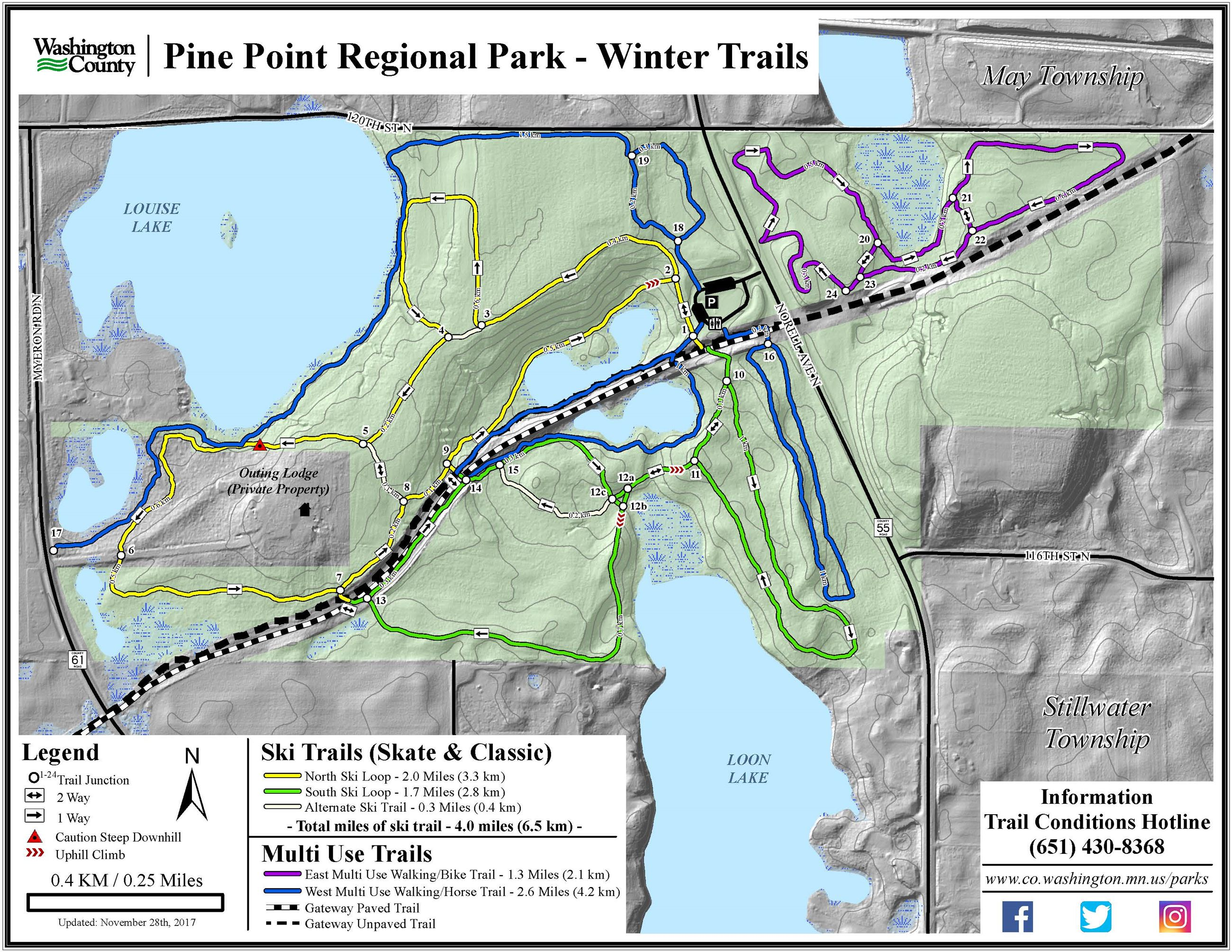 Hugo Minnesota Map.Pine Point Regional Park Washington County Mn Official Website