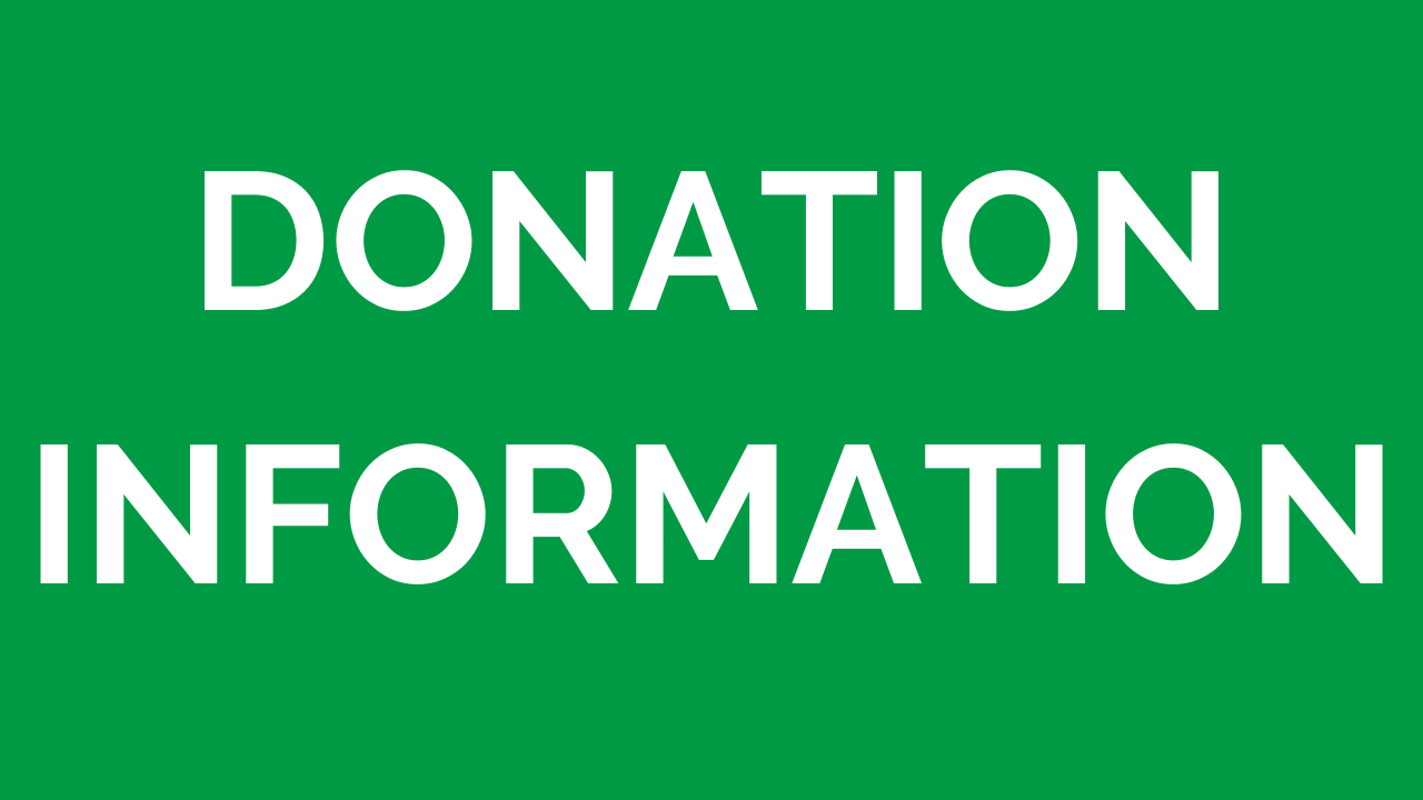 Donation Information