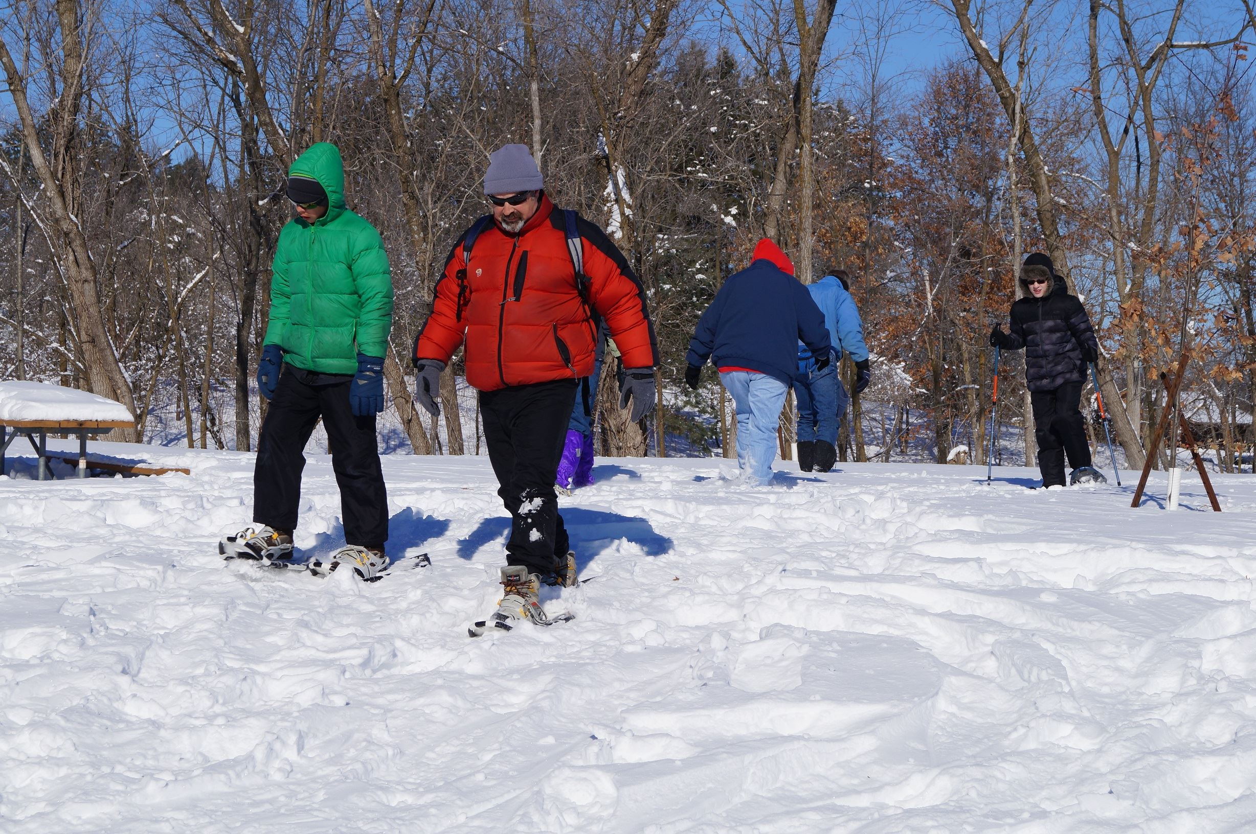 Snowshoeing for all ages with Diro Outdoors