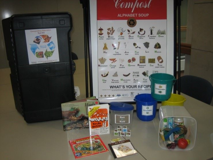 Composting Education Kit Opens in new window