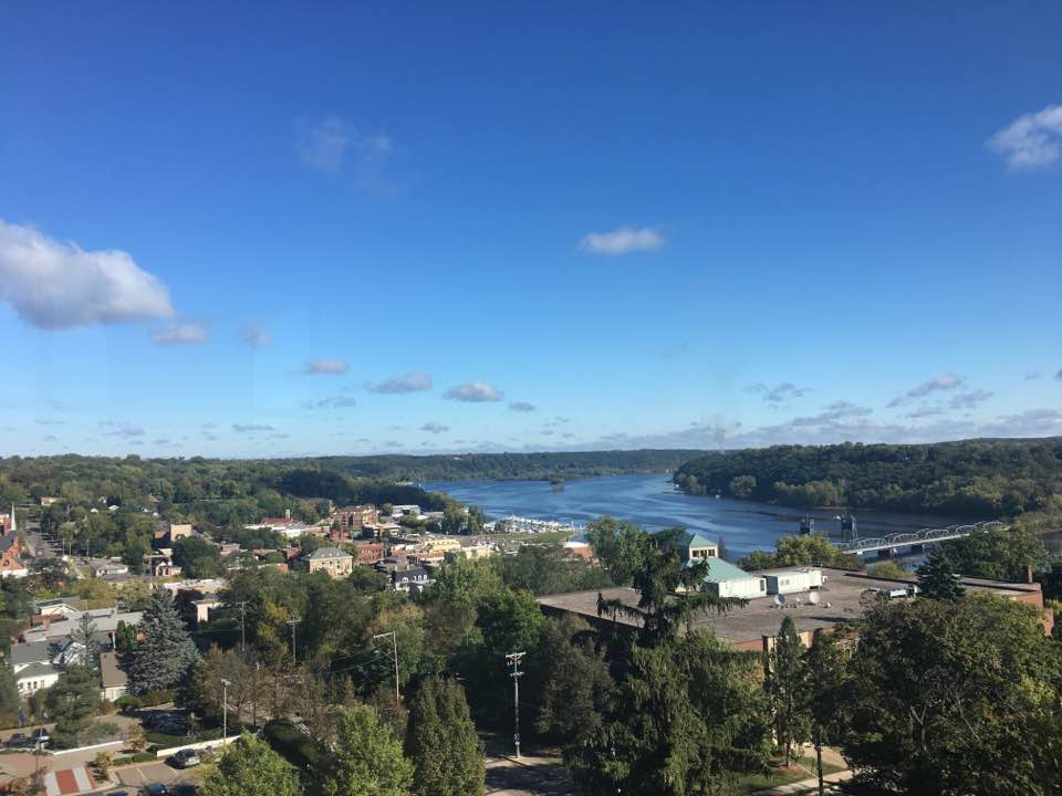 View of Stillwater from the Historic Courthouse dome