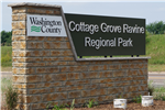 Cottage Grove Ravine Regional Park Entrance Sign