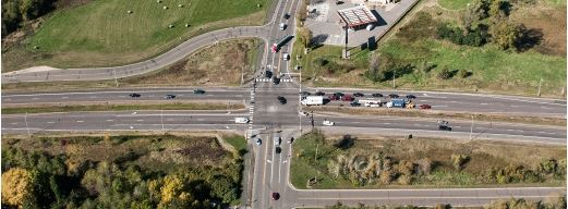 Intersection Aerial 2