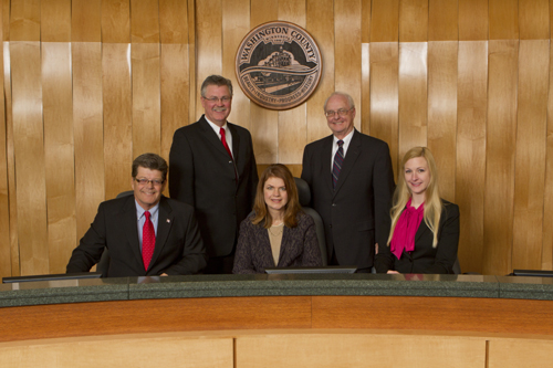 2013 Washington County Commissioners