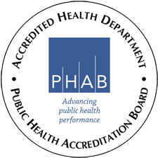 Accredited Public Health Department Logo