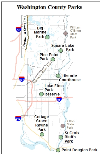County Parks Map