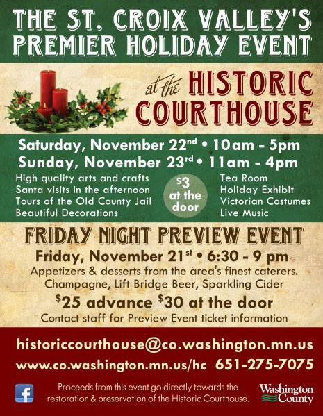 Victorian Christmas at the Historic Courthouse