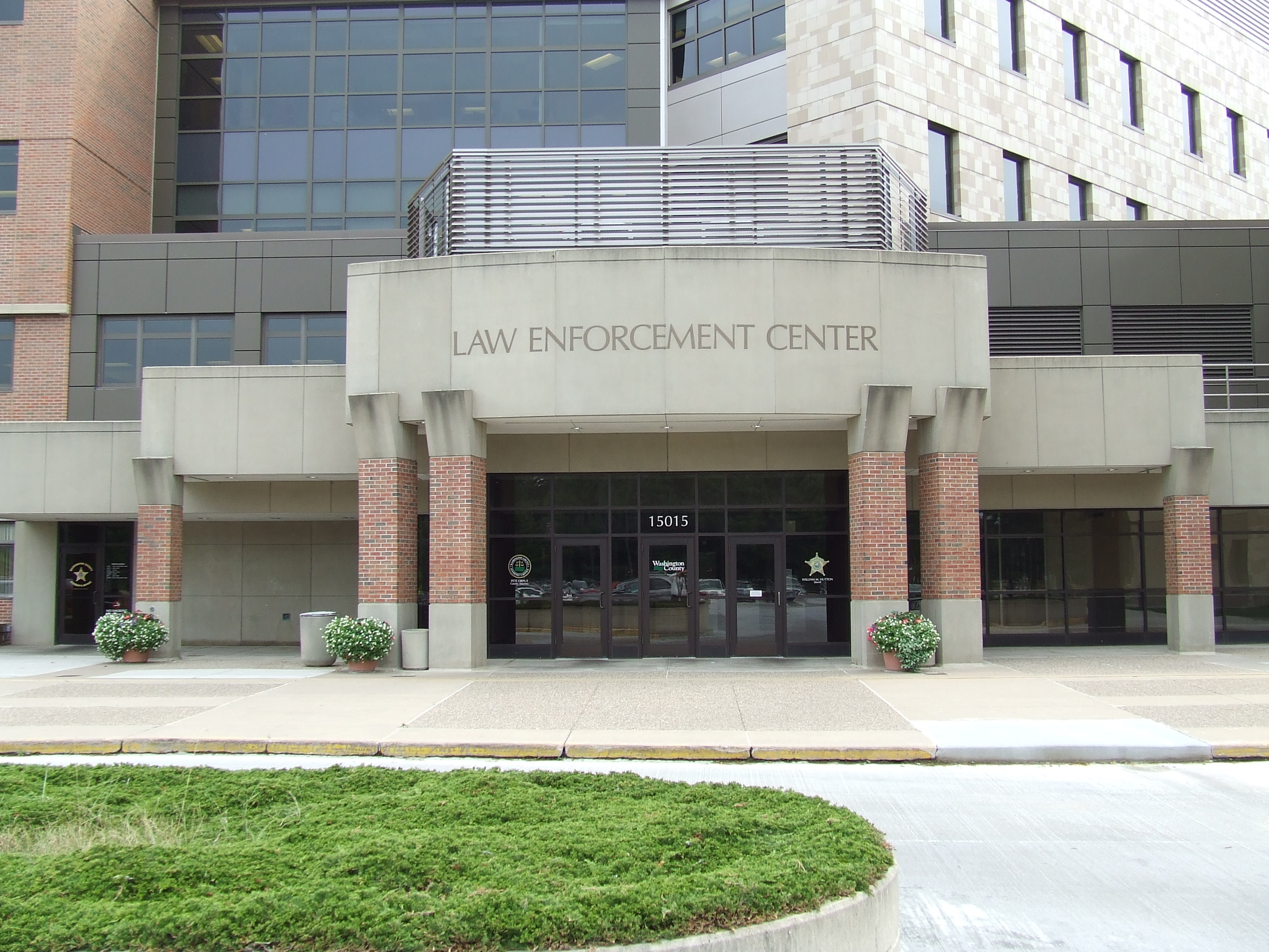 Law Enforcement Center Entrance